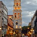 Illuminated bell tower por Chemose