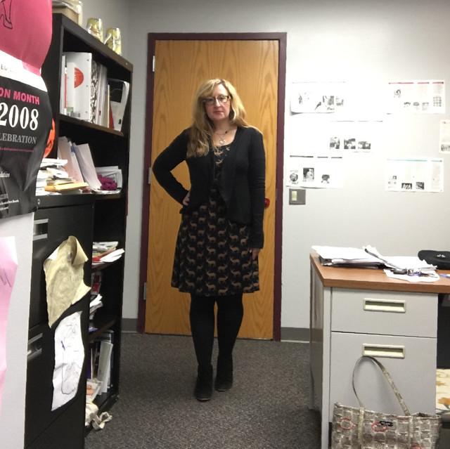 Boden Deer Print Dress