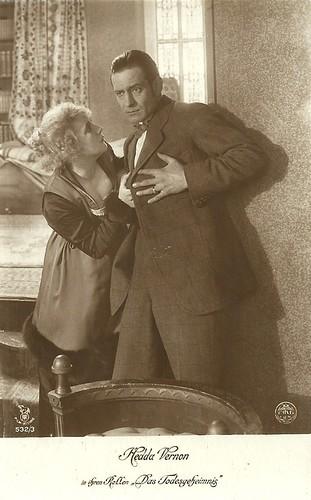 Hedda Vernon in Das Todesgeheimnis (1918)