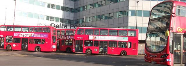 West Croydon bus station 24/02/18., Fujifilm FinePix AV130
