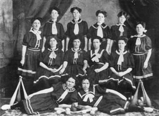 Ladies' class of the Bundaberg Gymnasium, 1909