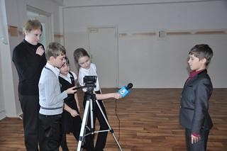 Будни школьного телевидения