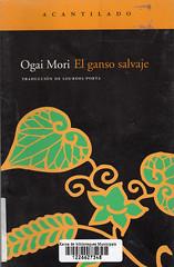 Ogai Mori, el ganso salvaje