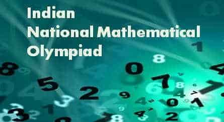 INMO 2019 - Indian National Mathematical Olympiad, Admit Card