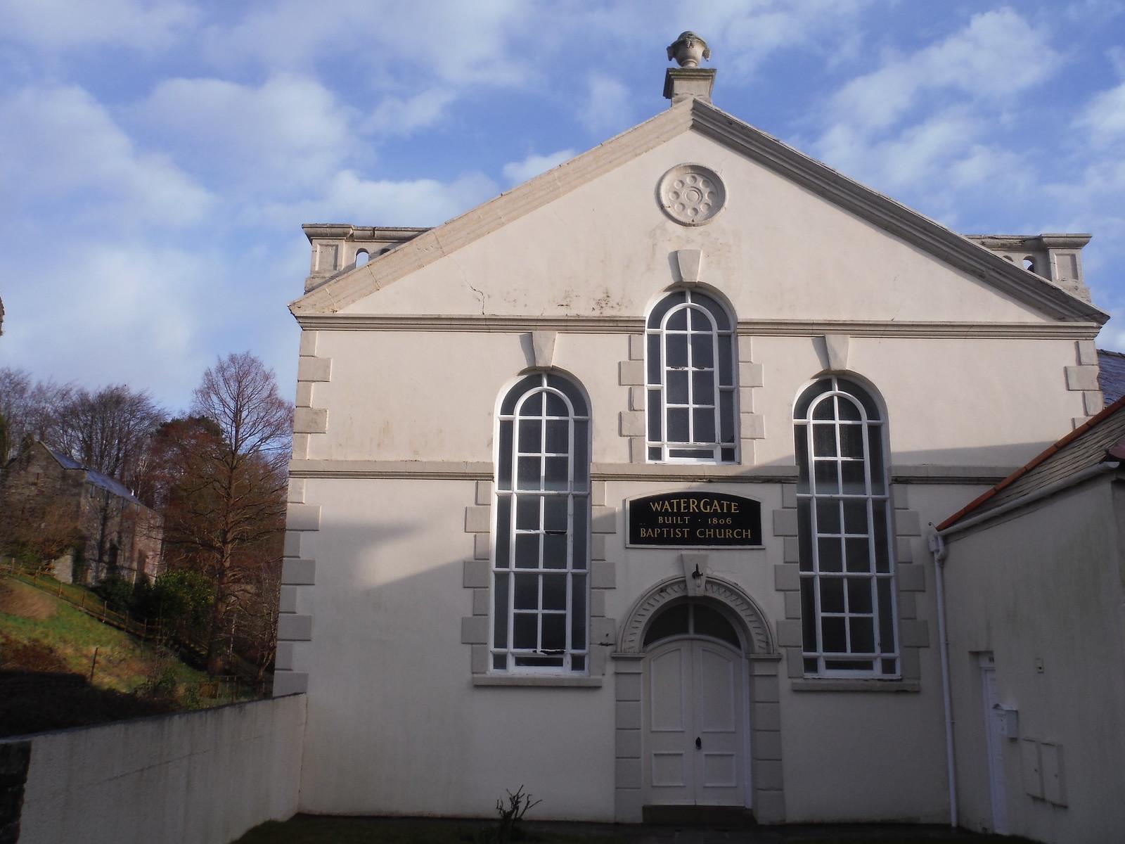 Watergate Baptist Church, Brecon SWC Walk 306 - Brecon Circular (via Y Gaer, Battle and Pen-y-crug)