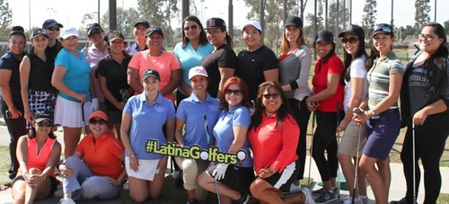 Latina Leadership Through Golf Inaugural Class
