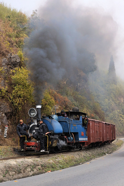 Steaming North
