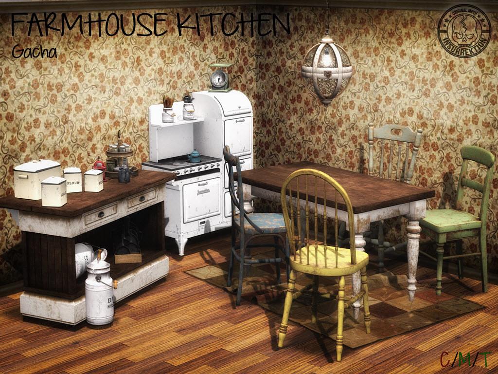 [IK] Farmhouse Kitchen - TeleportHub.com Live!