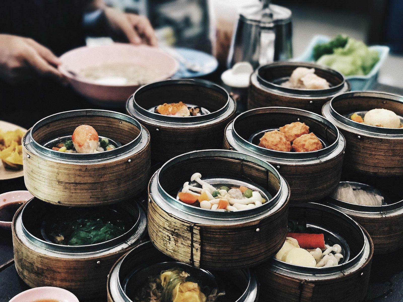La Maison Kam Fung dim sum bouchées bouffe repas restaurant asiatique