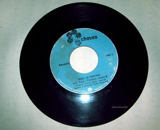 Pasodoble Feria de Popayán en Disco de 45 rpm