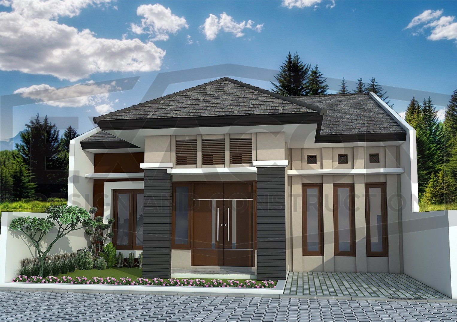 Proyek Rumah Minimalis Modern Bapak Iman - Sumatera