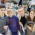 5de leerjaar; Boekenbeurs en stadswandeling in Antwerpen (11/17)