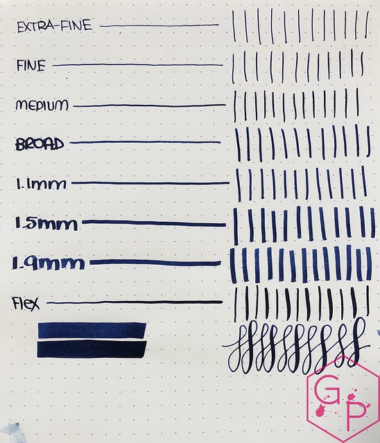Ink Shot Review KWZ Ink IG Blue #3 @BureauDirect 4