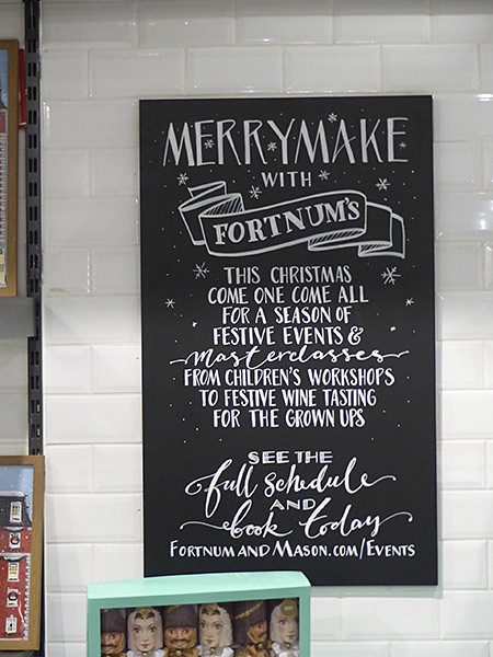 merry make with Fortnum's