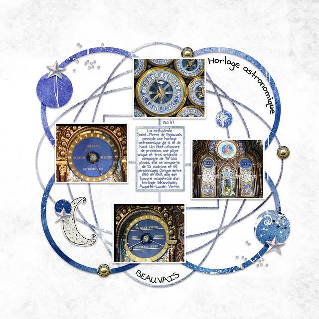 Beauvais 8 - Horloge astronomique