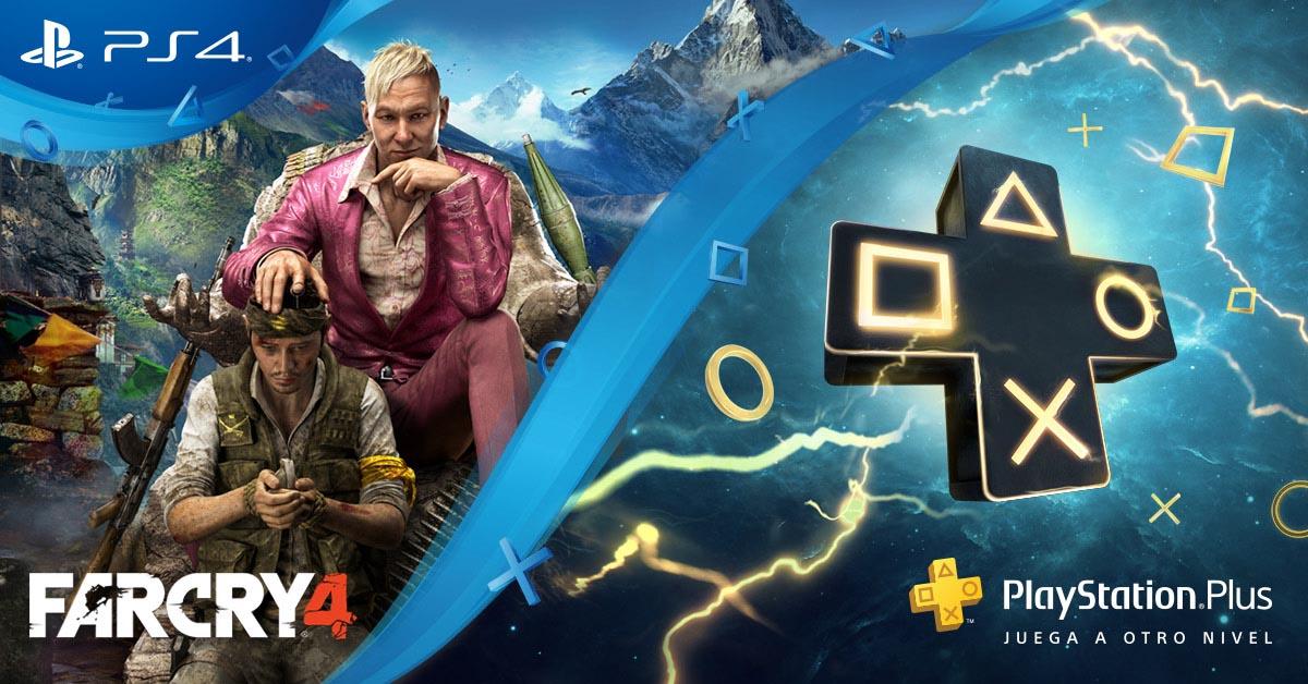 PS Plus Far Cry 4 - 3