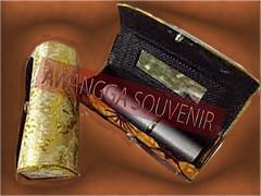 souvenir tempat lipstik emas