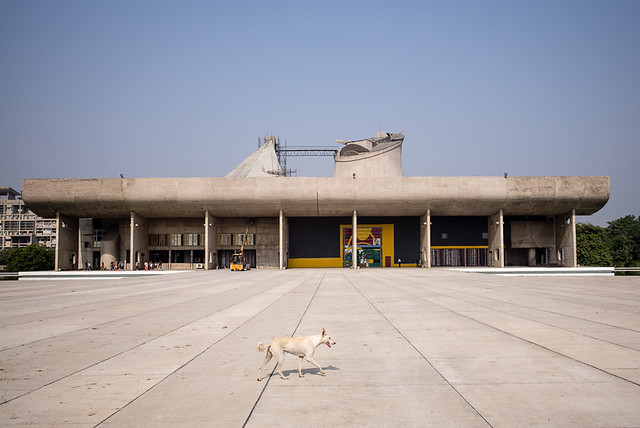 The Assembly - Capitol Complex, Chandigarh, India.