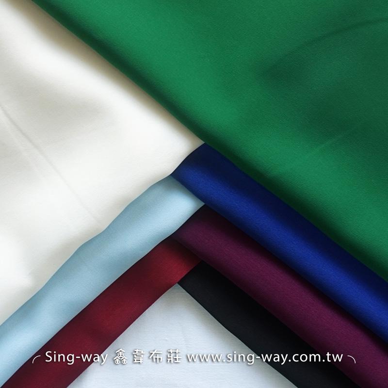 J340109 藍綠紫色系 素面長纖 不透明不易皺 簡約無印 禪風 宗教 中國服裝布料
