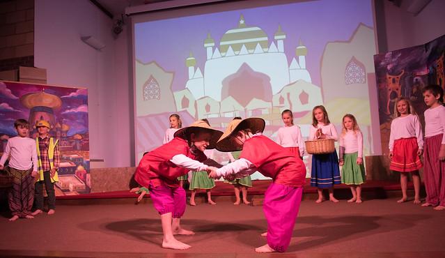 Year 4 Play - Aladdin Trouble FEB18