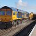 GB Railfreight 66728 - Leamington Spa