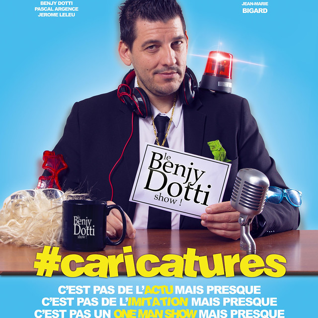 Benjy Dotti : Caricatures