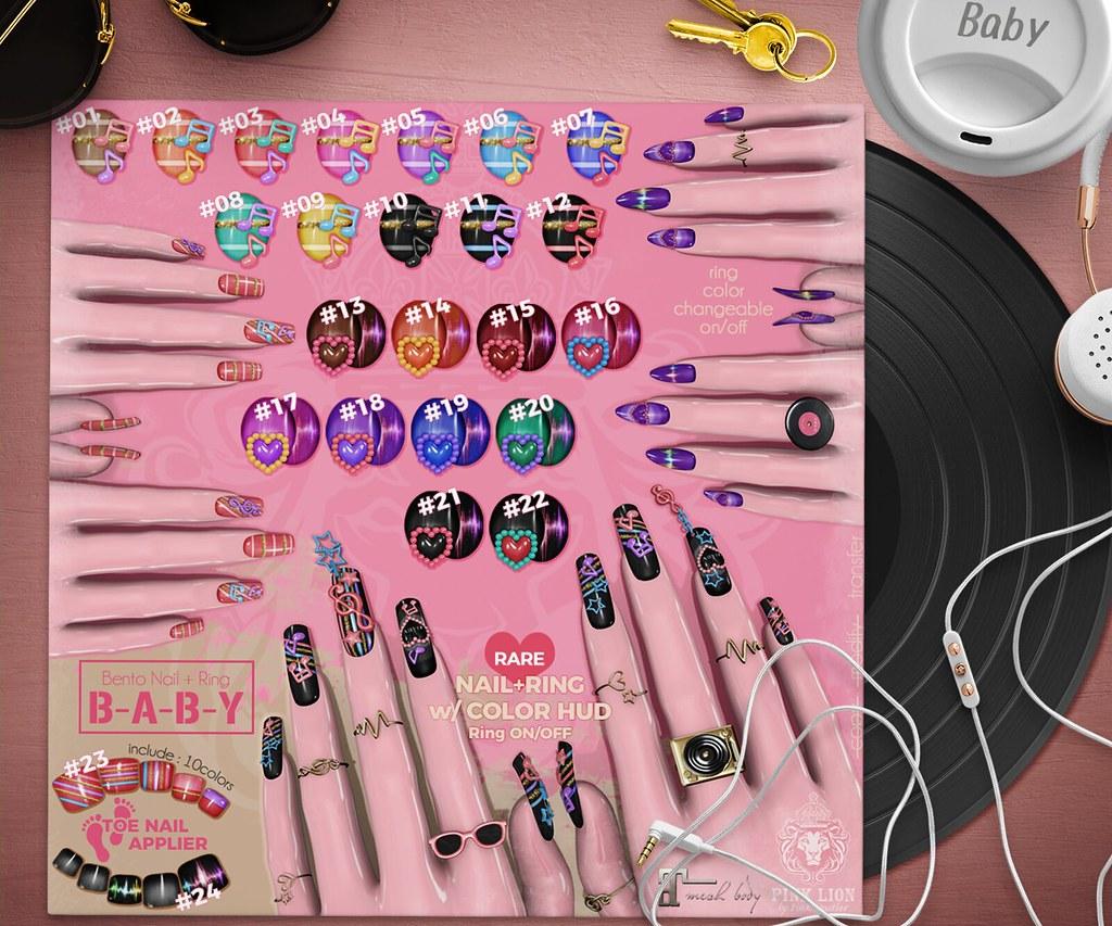 bento nail ♥B-A-B-Y♥ - TeleportHub.com Live!