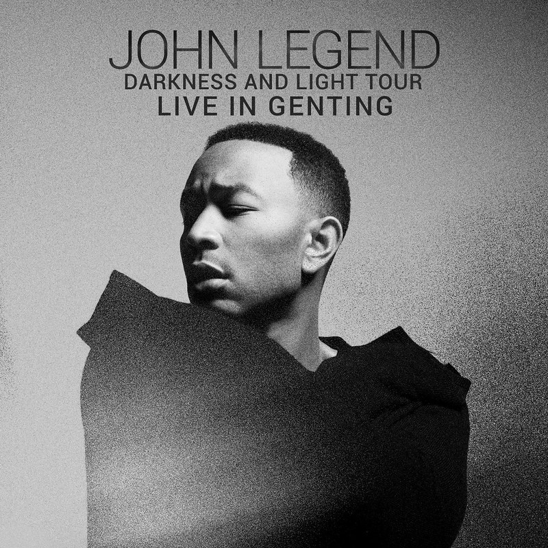 Clean Visual John Legend Darkness and Light Tour 2018