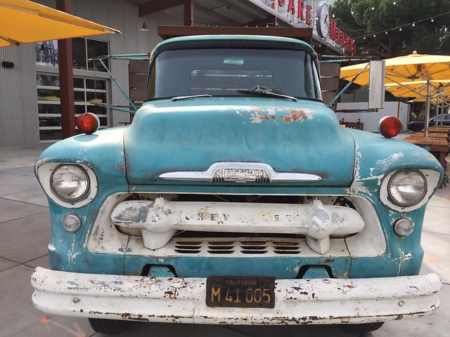 Chevy Truck at San Pedro Square