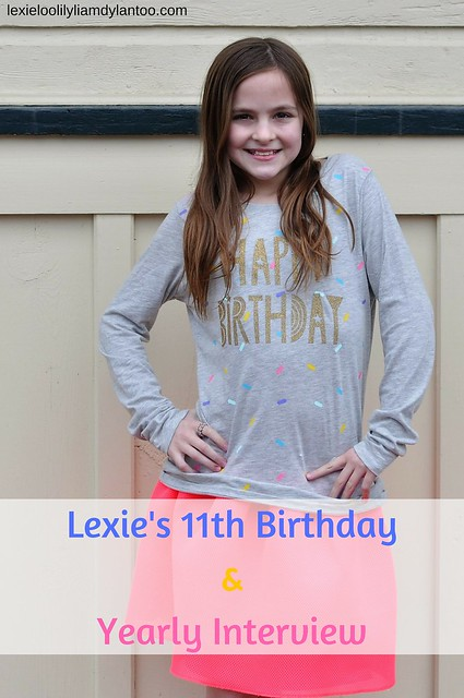 11th Birthday and Yearly Birthday Interview #Birthday #birthdaytraditions #traditions #momblogger