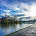The River Severn - Nice sky!