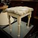 Fabric dressing stool E23