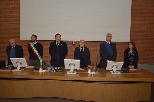 Giorno della memoria, la cerimonia della Prefettura in biblioteca San Giorgio. Foto Carlo Quartieri
