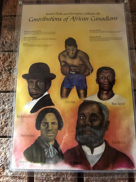 Contributions of African Canadians poster at Malvern Community Recreation Centre (3)