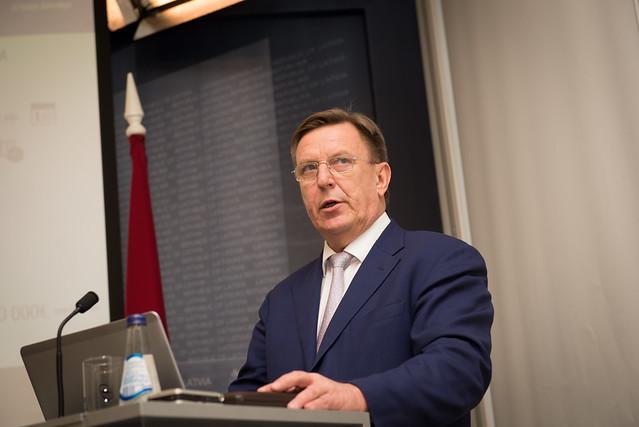 Ministru prezidenta Māra Kučinska preses konference par valdības divu gadu darbu