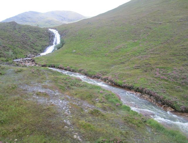 Allt Coire Nam Bruadaram Waterfall, Skye,