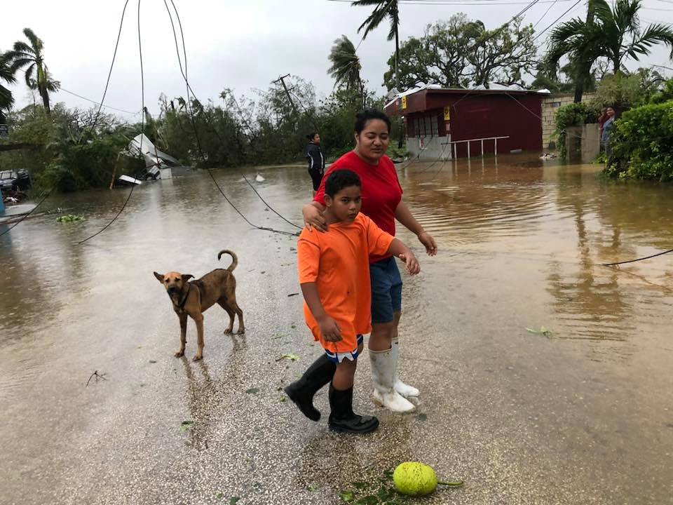 American Samoa in state of disaster after strong tropical cyclone