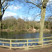 Leasowes Park - Priory Pool - panoramic