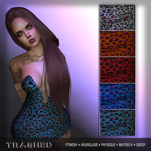 <Trashed> Leah Dress - TeleportHub.com Live!