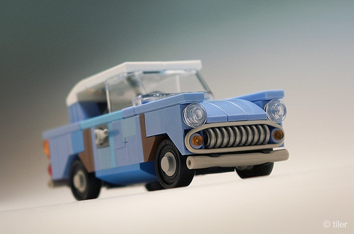 Harry Potter flying Ford Anglia 105E (junk version) _07
