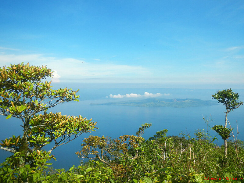 View of Taal Lake from Mt. Maculot's Summit
