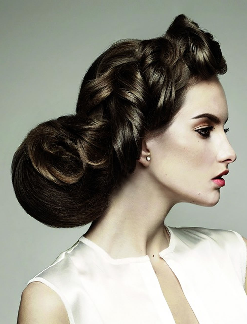 Updo Hairstyles For Round, Square Oval Faces 2018 - 2019 6