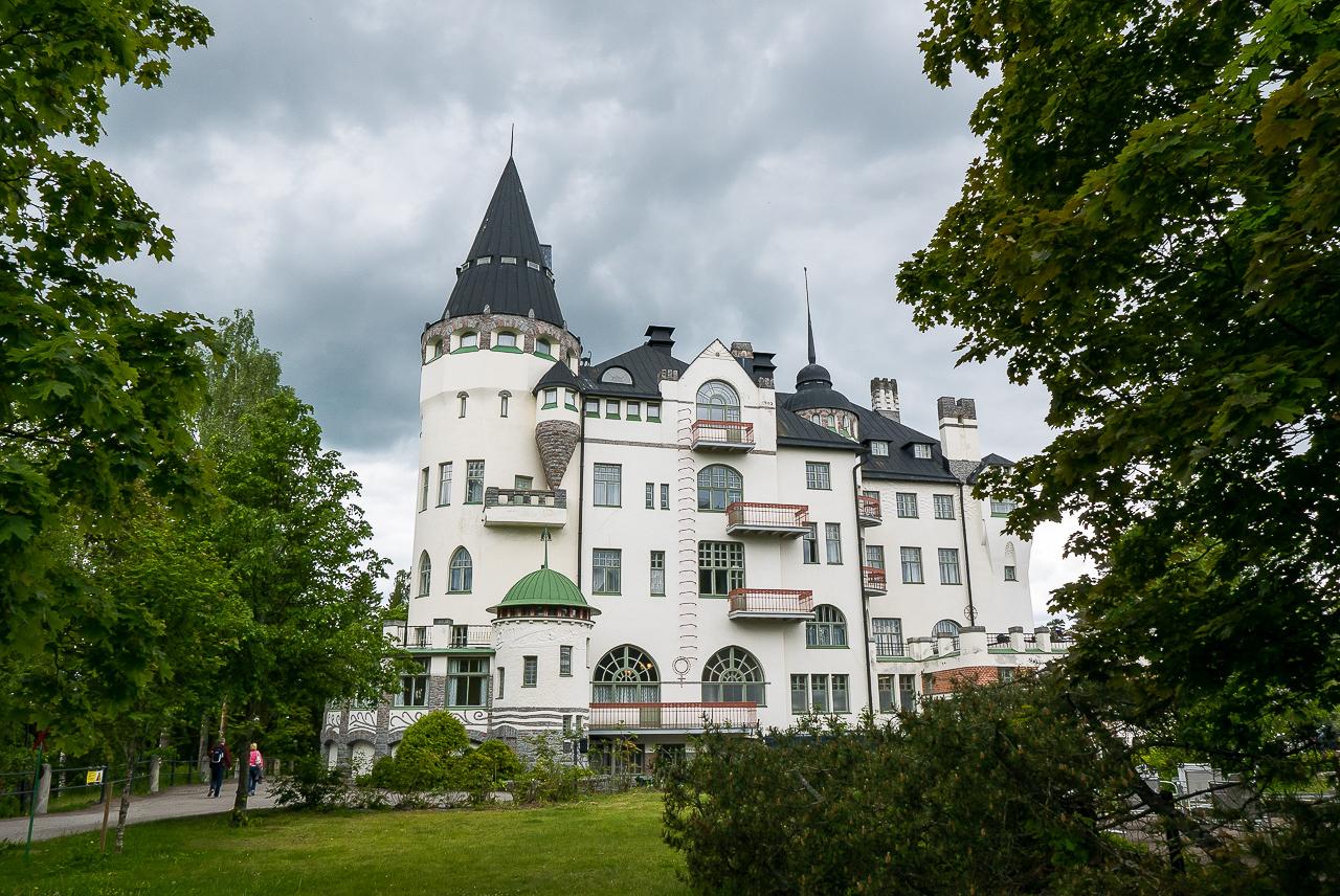 Imatran Valtionhotelli, Imatra, Imatrankoski