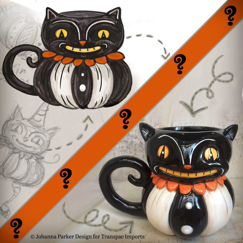 Johanna-Parker-Black-Cat-Mug-before-after