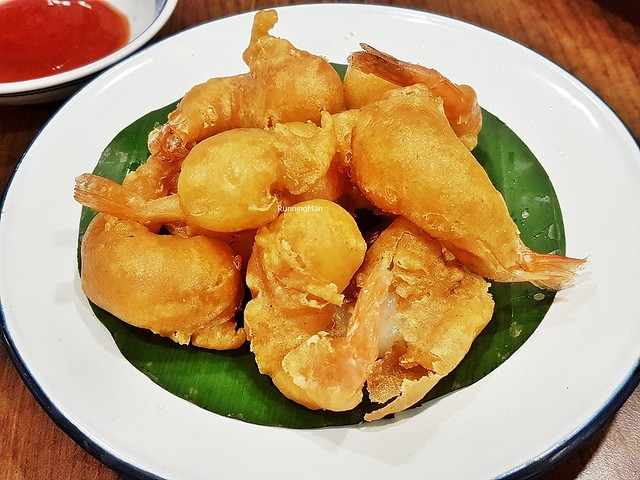 Curry Prawn Fritters