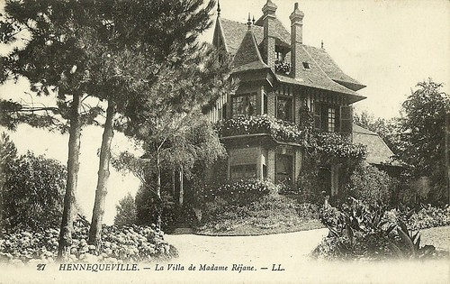 Hennequeville - the villa of Mme Réjane
