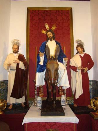 Hermandad Y Cofradía De Nazarenos Del Santísimo Cristo De La Salud En Su Sagrada Entrada En Jerusalén. Vulgo