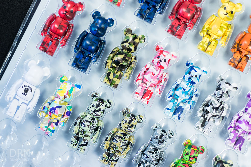 Bape Bearbrick Collection.