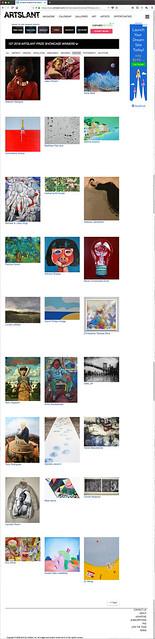 1st 2018 Artslant Showcase Winners: Paintings