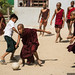 Monks playing football by no.zomi